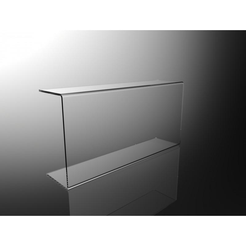 Parafiato in plexiglass trasparente per alimenti l80cm - Alimenti per andare in bagno ...