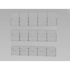 Espositore da parete a 15 tasche(5 o. x 3 v.)